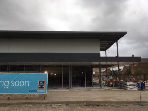 New Aldi Store Project Completed Rdp Cladding