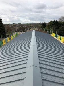 New roof installed kingspan RW panel (Wellingborough) - RDP Cladding