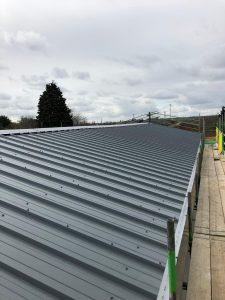 New roof installed kingspan RW panel (Wellingborough) - RDP